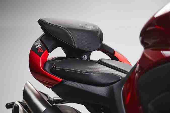 2021 MV Agusta Brutale 1000 RR seat
