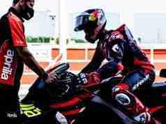 Andrea Dovizioso Aprilia RS-GP