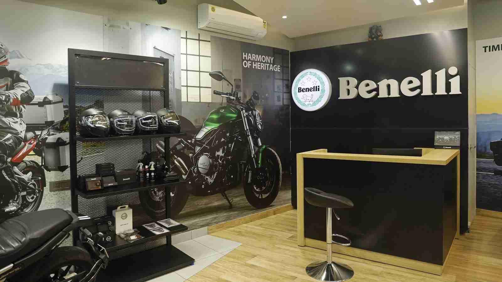 Benelli showroom now in Jammu