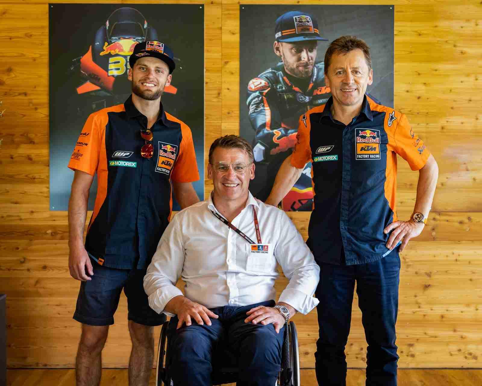 Brad Binder KTM MotoGP contract till 2024