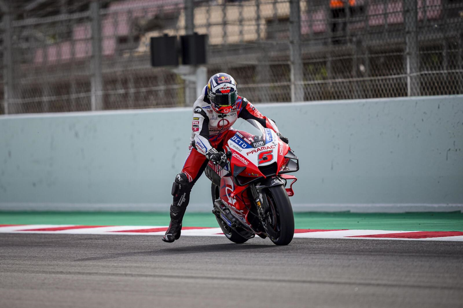 Johann Zarco Pramac Ducati MotoGP Catalunya day 1 update