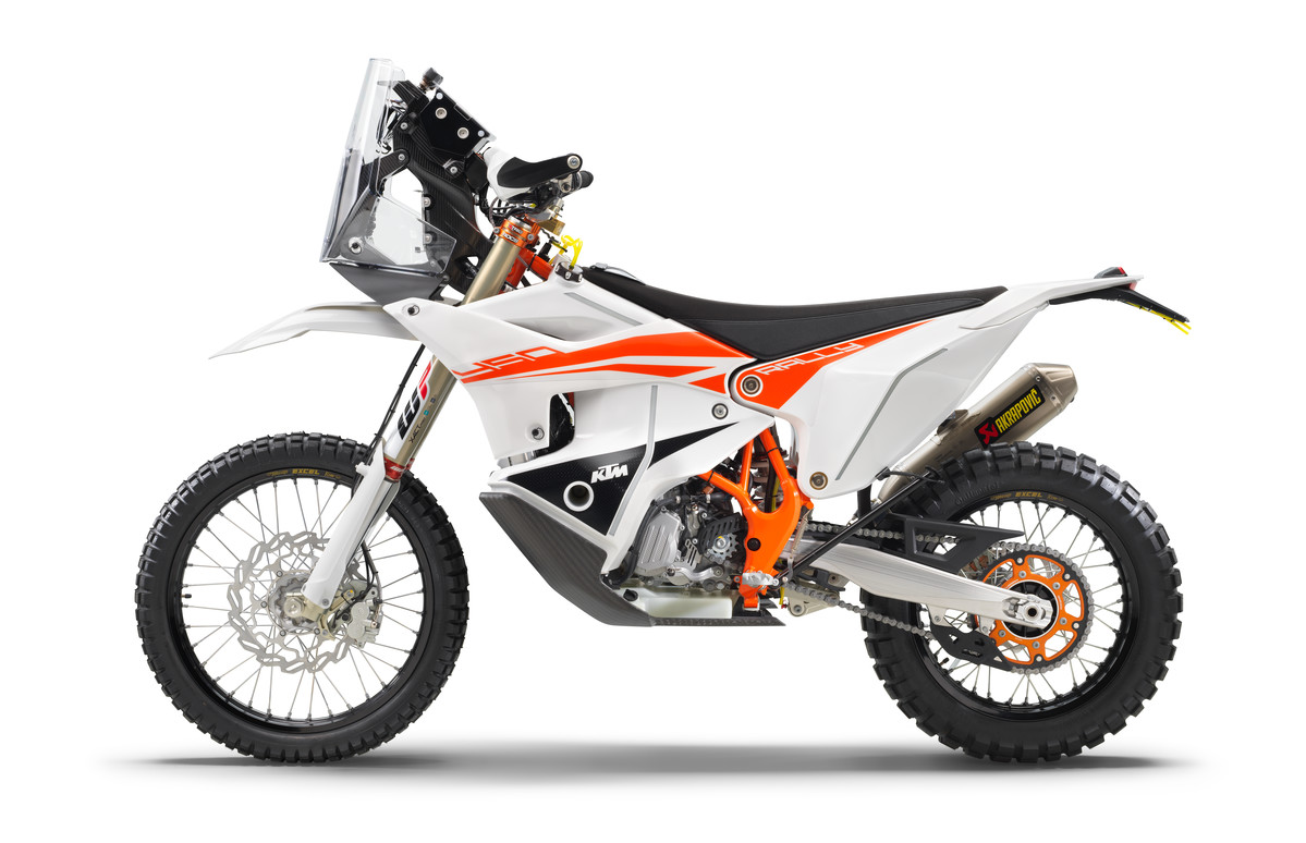 KTM 450 RALLY FACTORY REPLICA front 2022