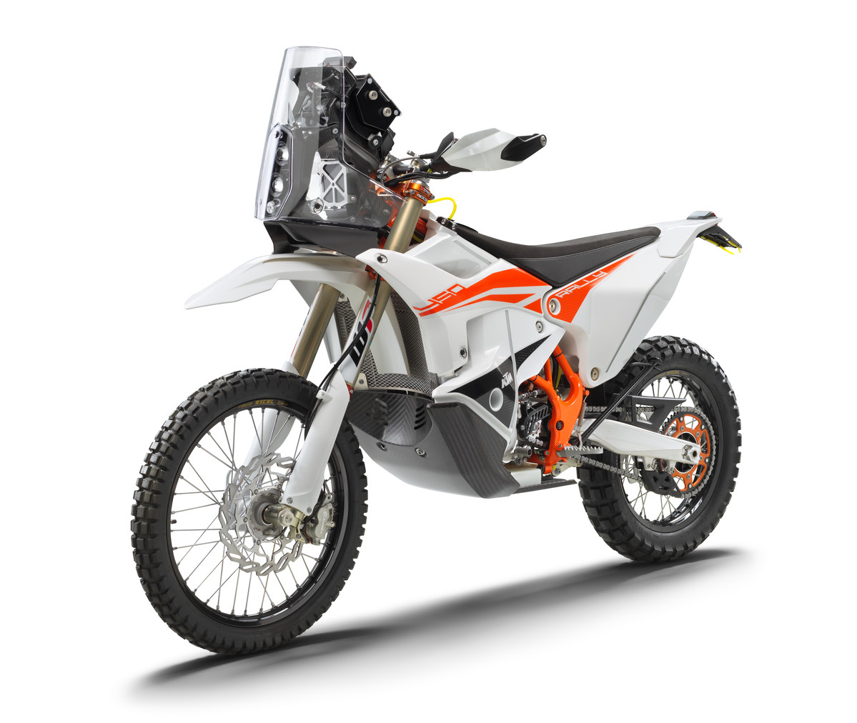 KTM 450 RALLY FACTORY REPLICA left front 2022