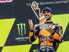 Miguel Oliveira Red Bull KTM MotoGP RC16 Circuit de Barcelona Catalunya winner