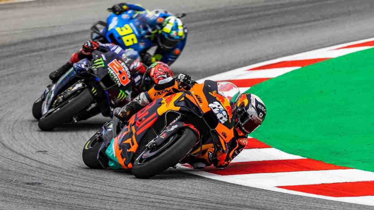 Miguel Oliveira takes MotoGP Catalunya win
