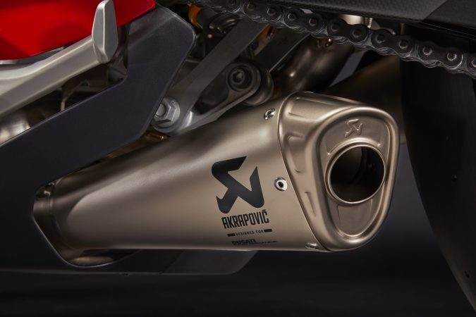 Panigale V4 S Accessories Akrapovic exhaust
