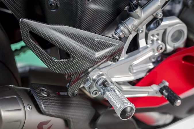 Panigale V4 S accessories heel protector