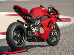 Panigale V4 S with all accessories