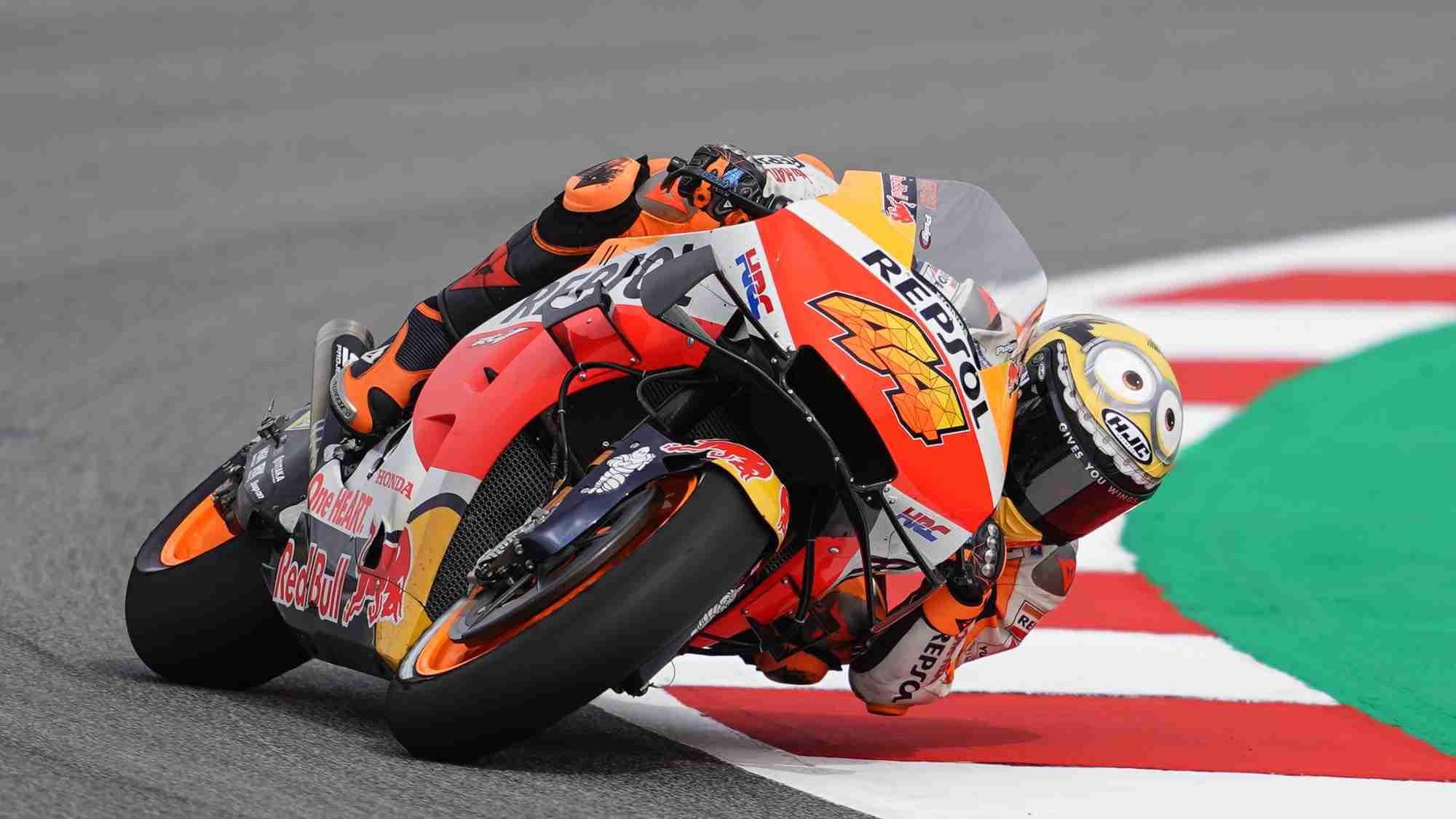 Pol Espargaro Honda MotoGP Catalunya day 1 update