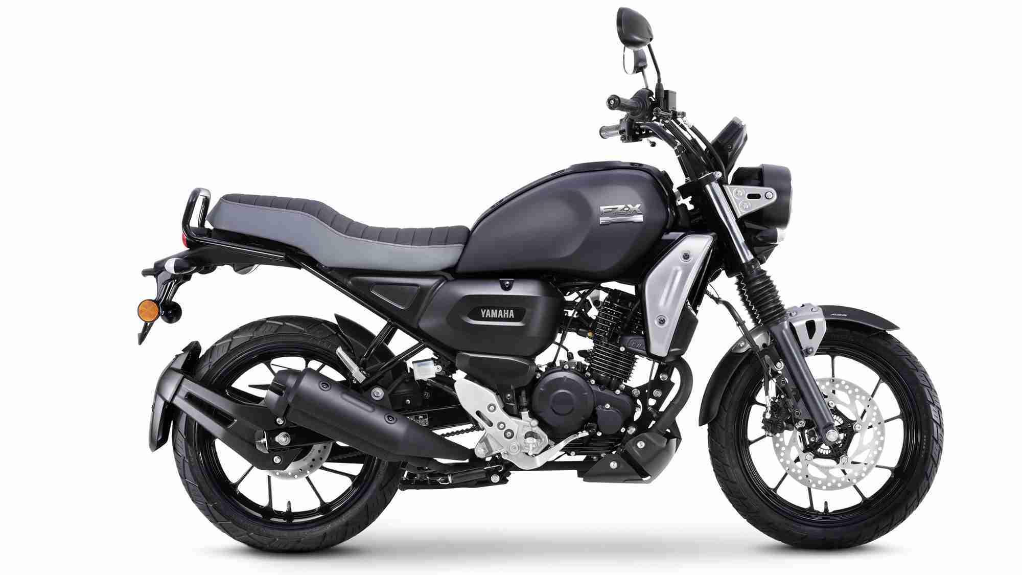 Yamaha FZ-X Matt Black colour option