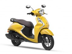 Yamaha Fascino 125 Fi Hybrid Yellow Cocktail colour option