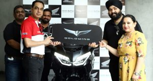 2021 Gold Wing Tour India deliveries begin