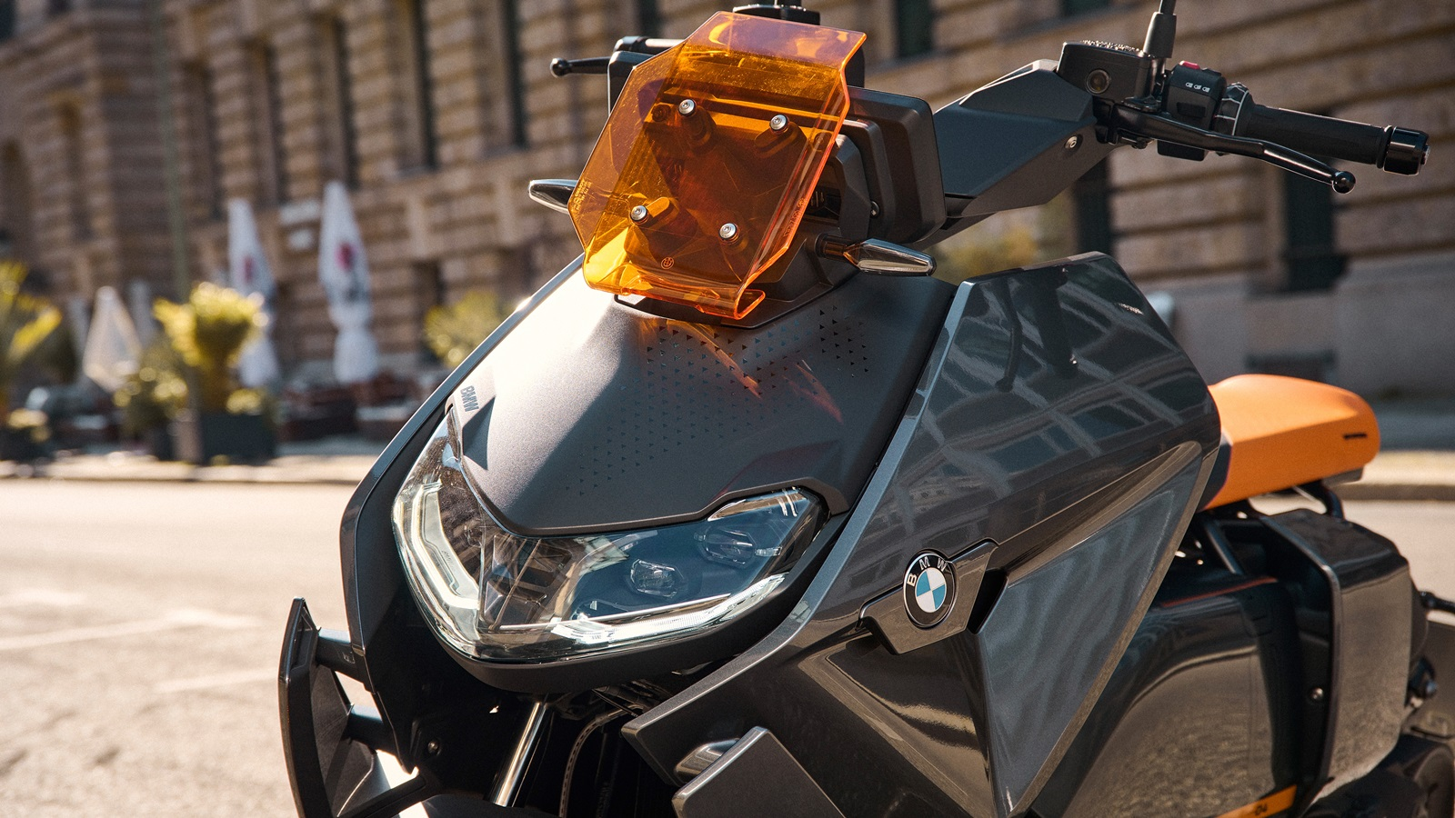 BMW CE 04 electric scooter headlight