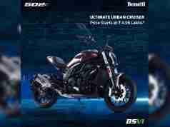 Benelli 502c India price