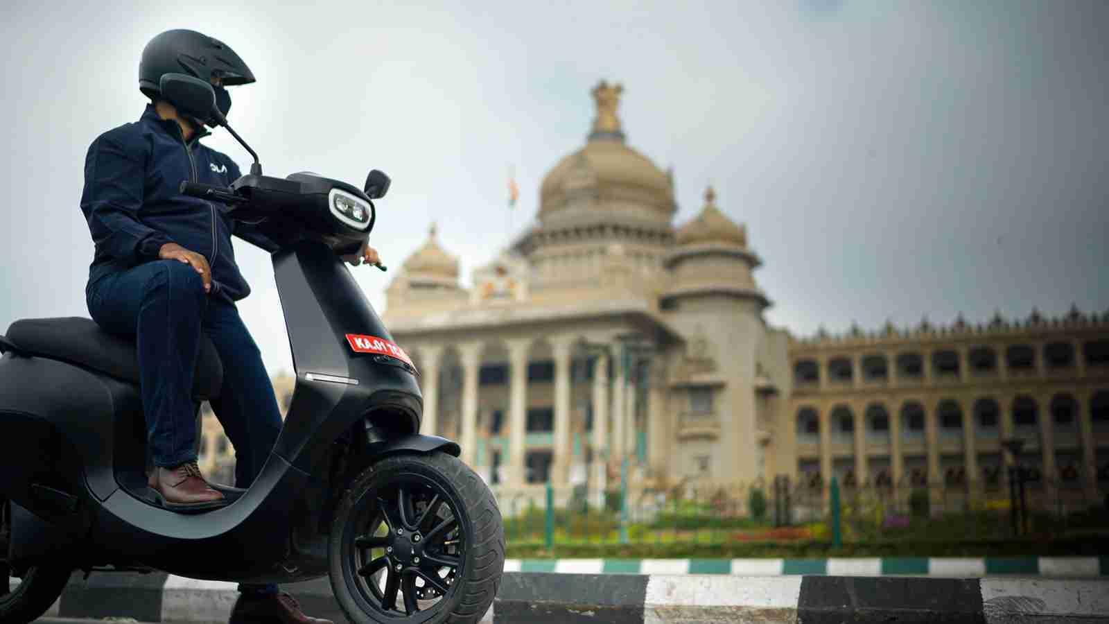 Bhavish Aggarwal on Ola electric Scooter
