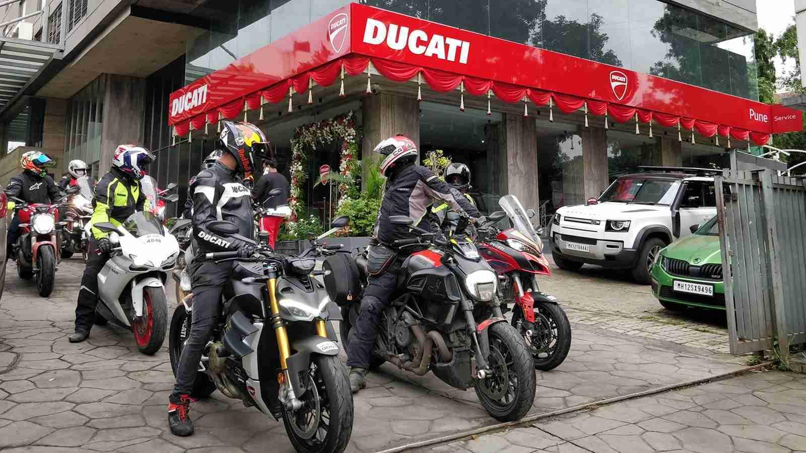 Ducati opens new dealership in Pune