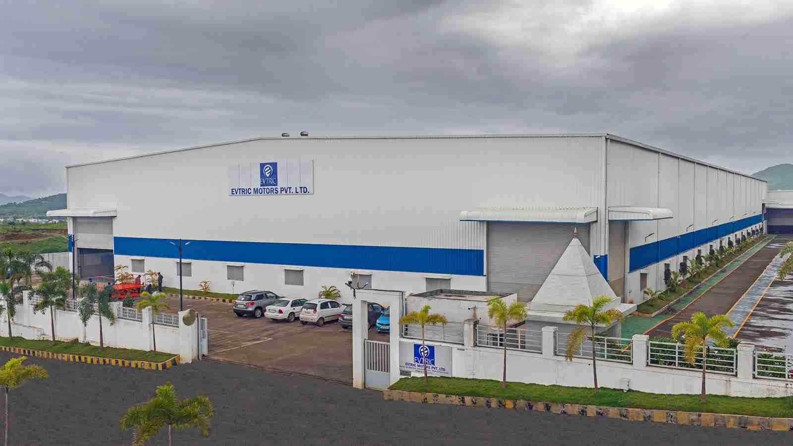 EVTRIC Motors Manufacturing Unit in Chakan Pune
