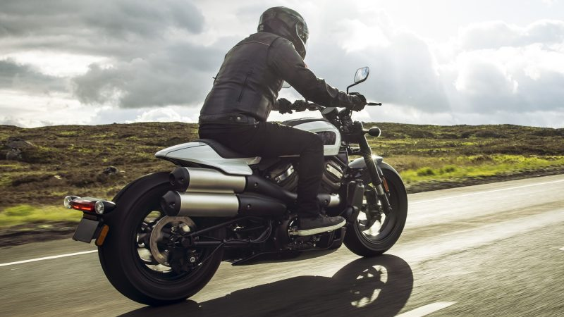 Harley-Davidson Sportster S HD wallpaper