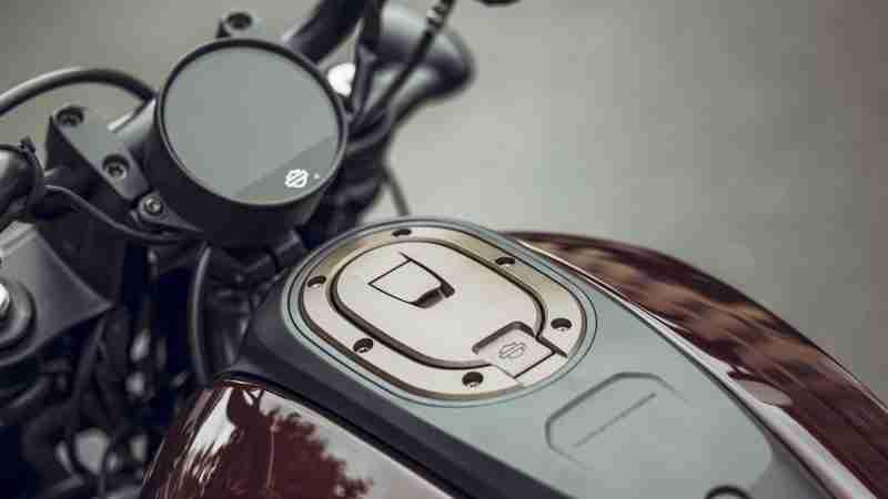 Harley-Davidson Sportster S tank