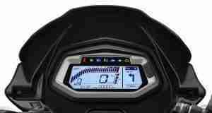 Hero Glamour Xtec Navigation on digital screen