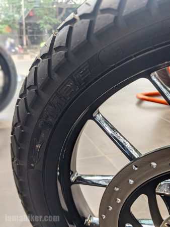 KTM 250 Adventure front tyre