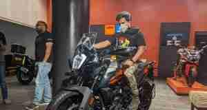 KTM 250 Adventure India