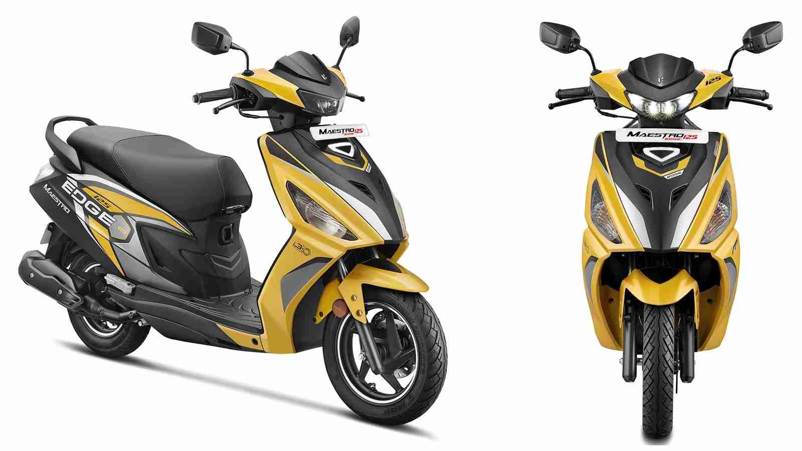 New Maestro Edge 125 Bluetooth Prismatic Yellow colour option