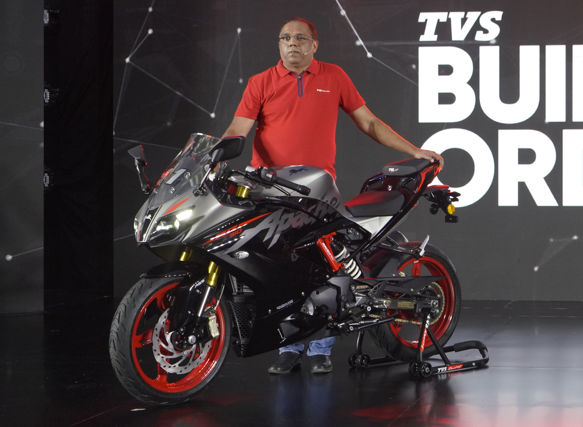 2021 TVS Apache RR 310 launched; First bike in TVS's Built To Order platform
