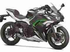 BS6 2022 Kawasaki Ninja 650 PEARL ROBOTIC WHITE colour option