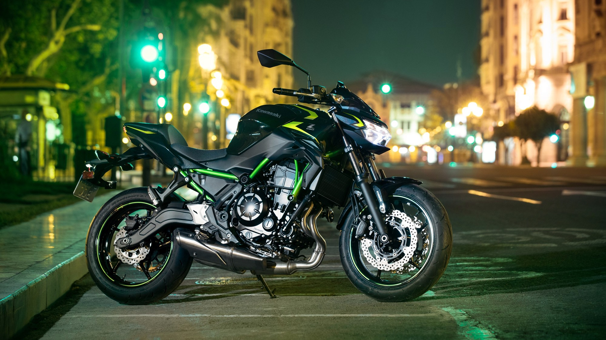 BS6 2022 Kawasaki Z650 priced at INR 6.24 lakh