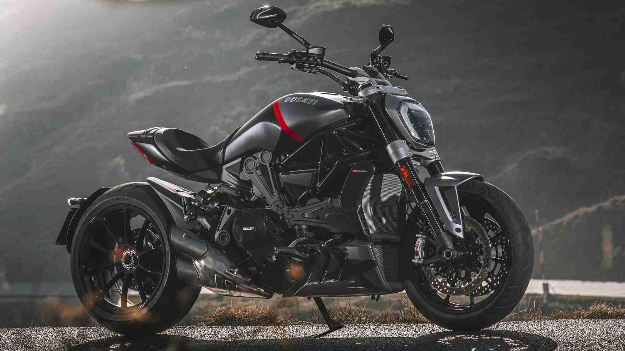Ducati XDiavel Black Star HD wallpaper