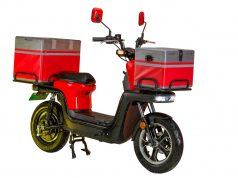 EVTRIC Motors unveils Electric Delivery Scooter