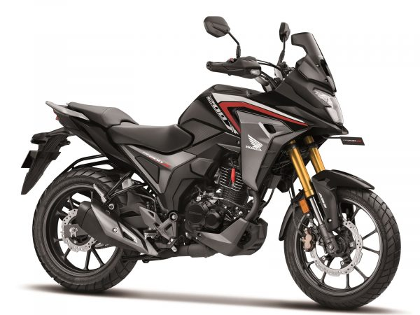 Honda CB200X Pearl Nightstar Black colour option