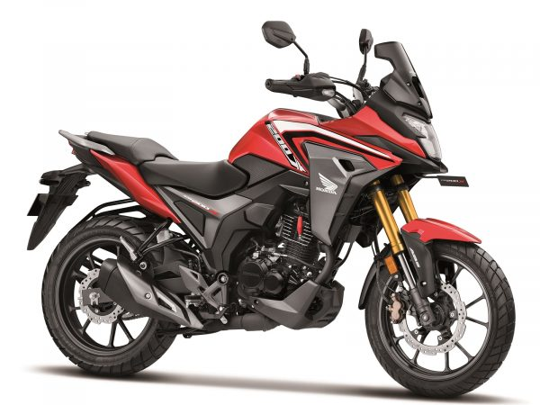 Honda CB200X Sports Red colour option