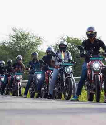 Revolt Motors conducts its First Community Ride