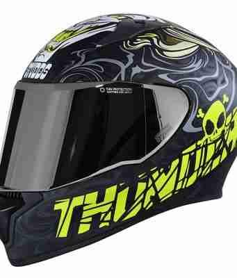 STUDDS Thunder D9 Decor full face helmet D9-BLACK-N5