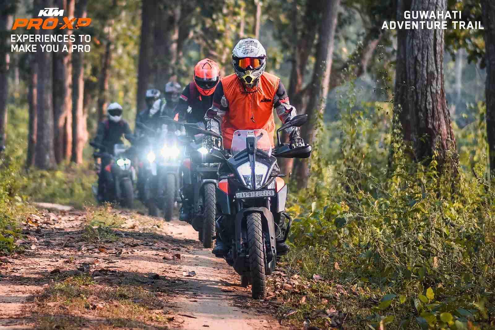 KTM India Pro-XP rides Adventure Trail