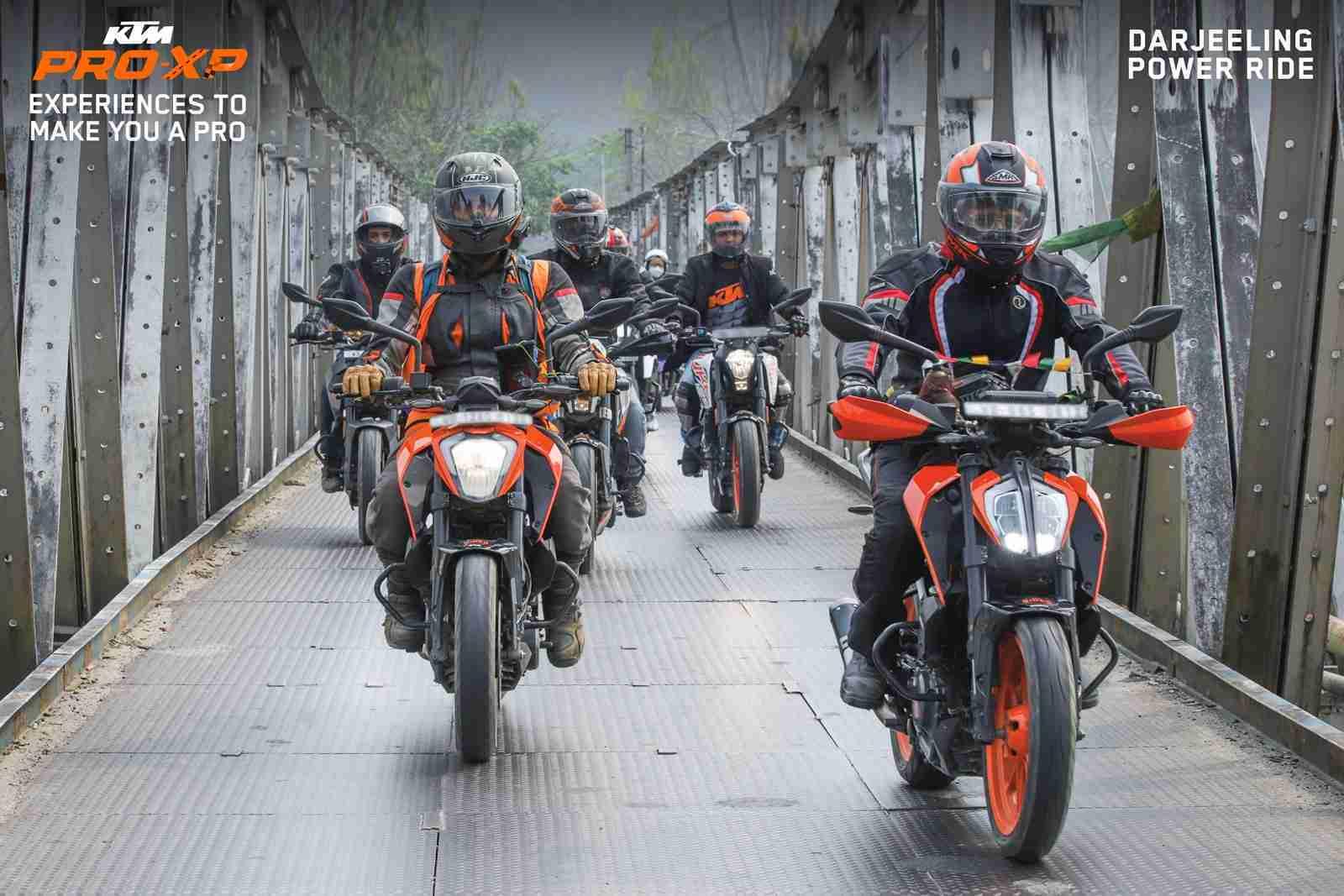 KTM India Pro-XP rides Power Rides