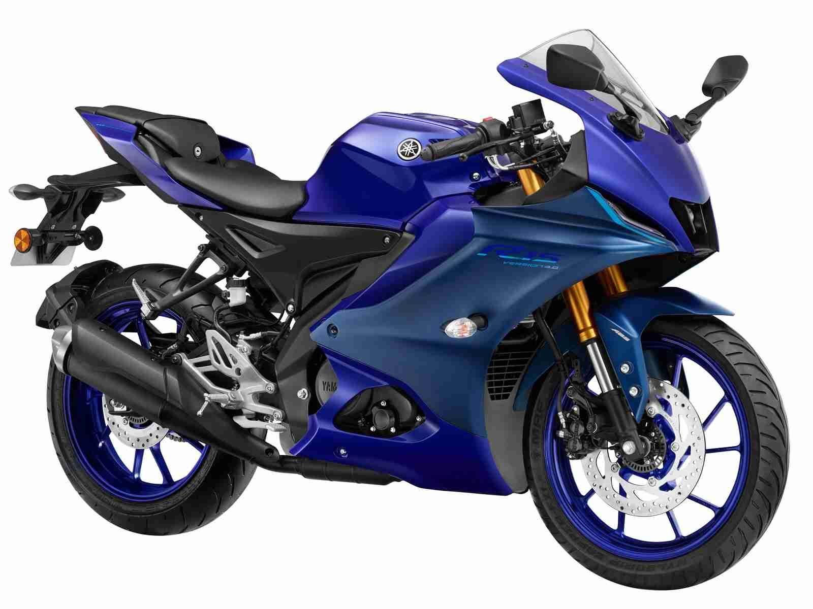 Racing Blue YZF-R15 V4 colour option