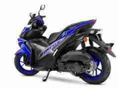 Racing Blue Yamaha AEROX 155 colour option