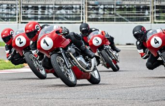 Royal Enfield Continental GT Cup 2021 racing