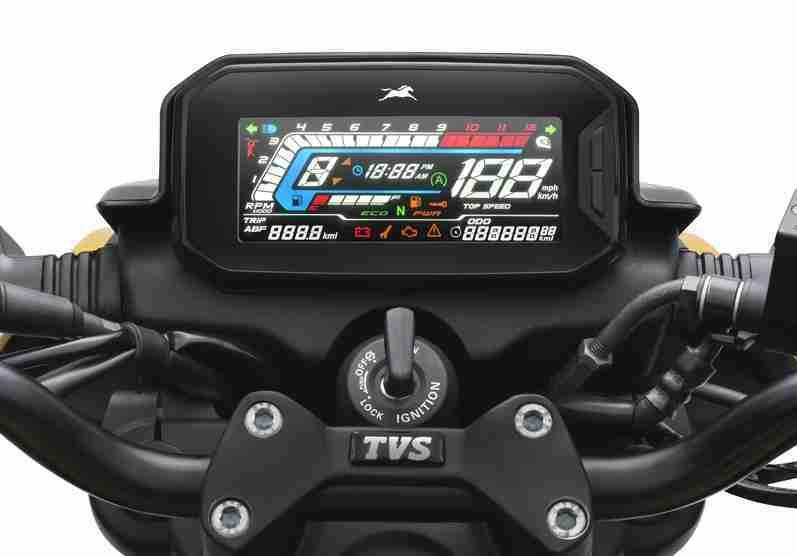TVS Raider Reverse LCD Display