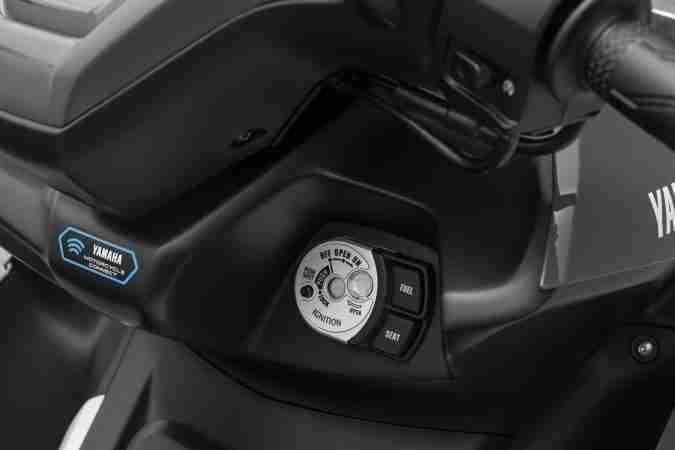Yamaha AEROX 155 key port