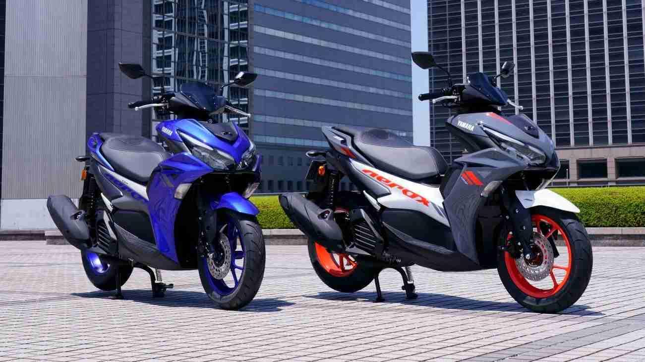 Yamaha AEROX 155 launched in India