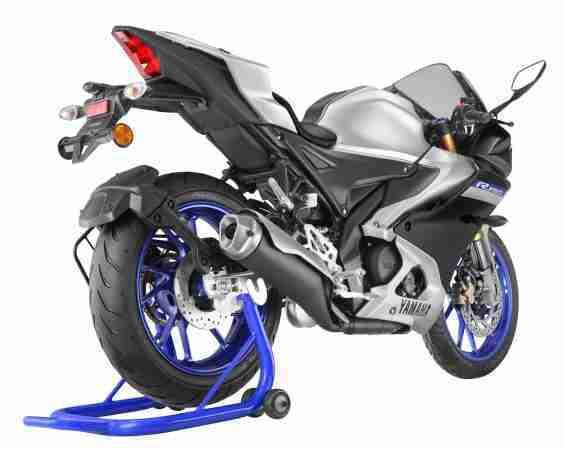 Yamaha Metallic Grey R15M