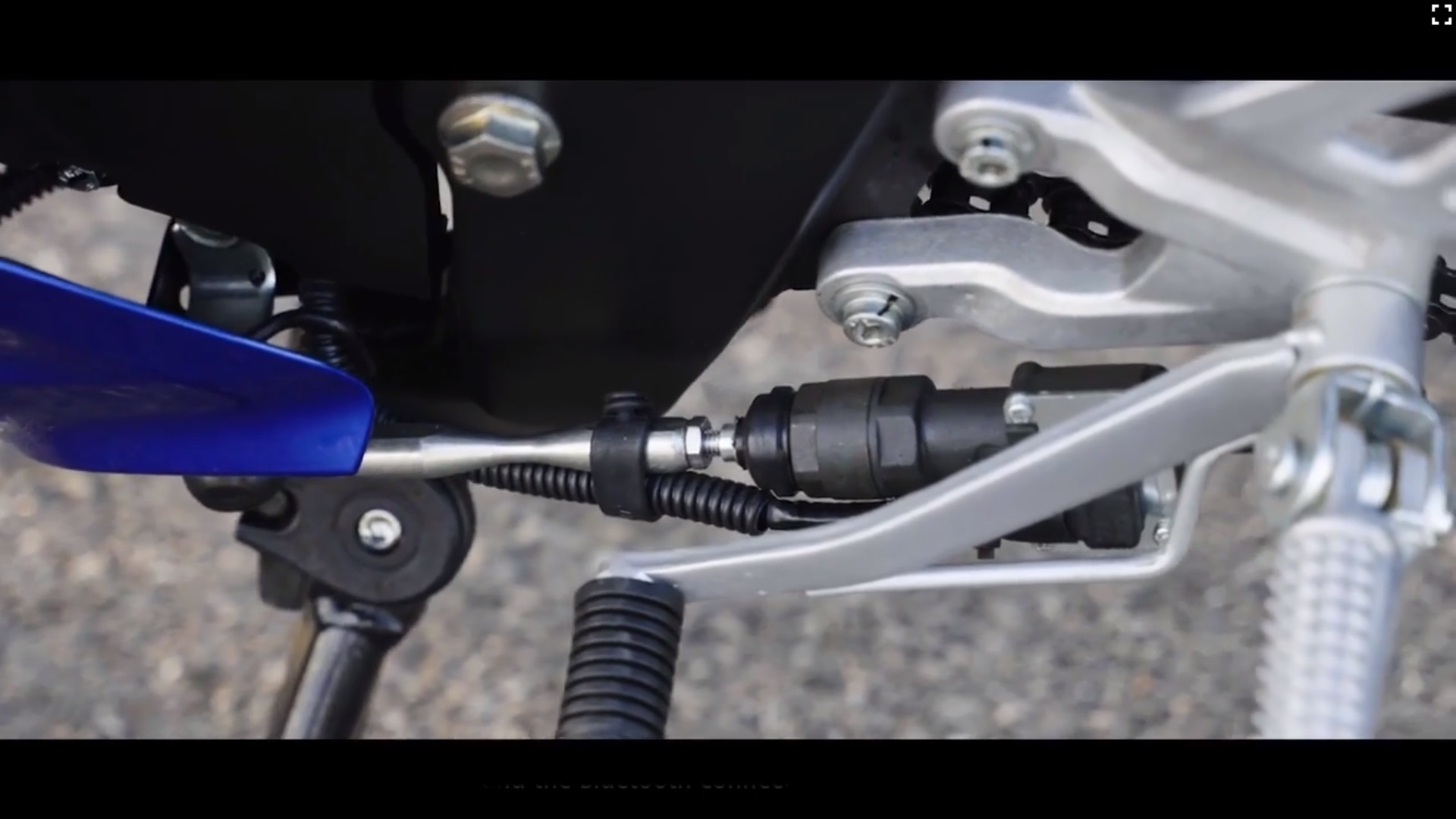 Yamaha R15 V4 quick shifter