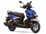 Yamaha RayZR Hybrid Disc Version Racing Blue colour option
