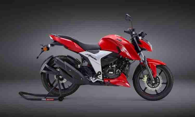 Apache RTR 160 4V Red colour option
