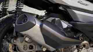 BMW C 400 GT silencer