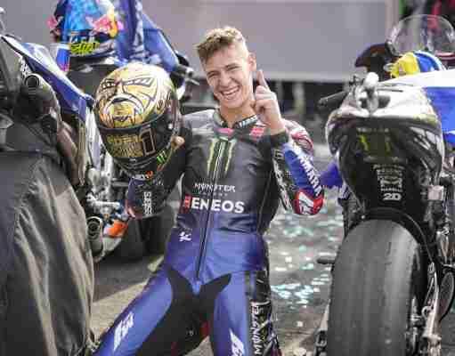 Fabio Quartararo is the 2021 MotoGP World Champion